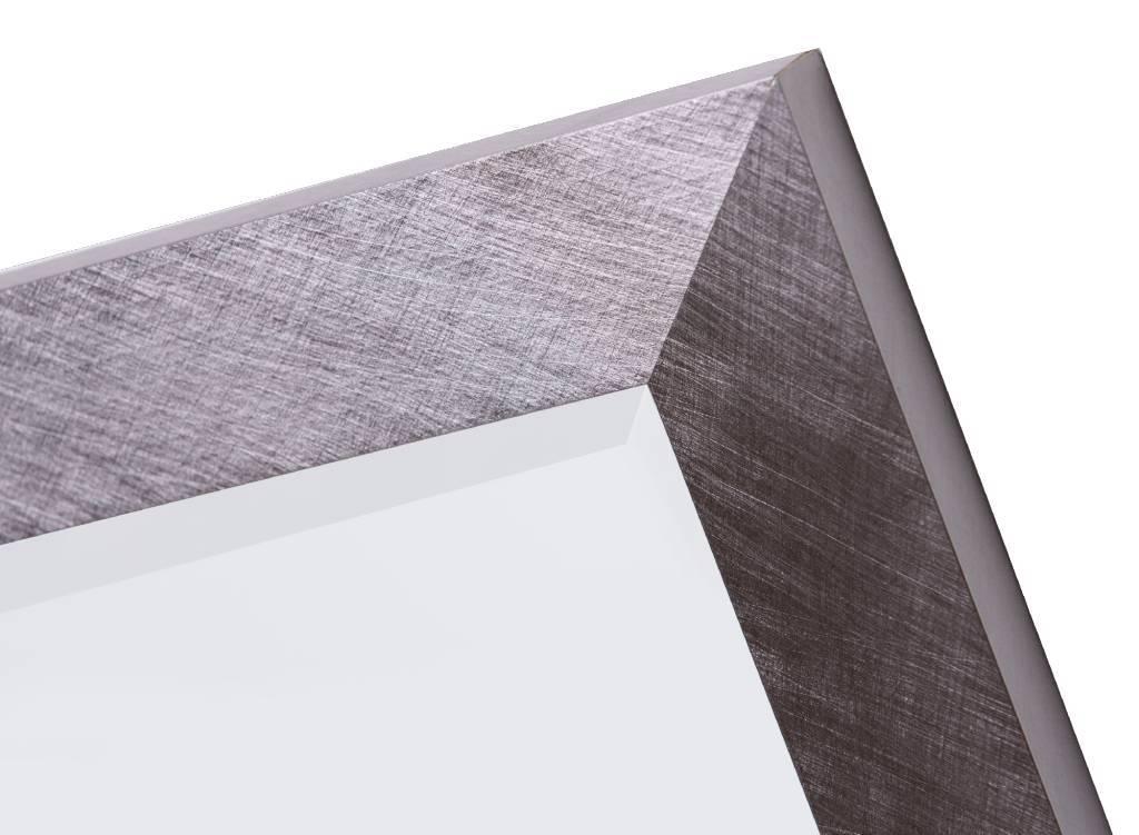 ormea spiegel mit modernem rahmen sieht aus wie edelstahl. Black Bedroom Furniture Sets. Home Design Ideas