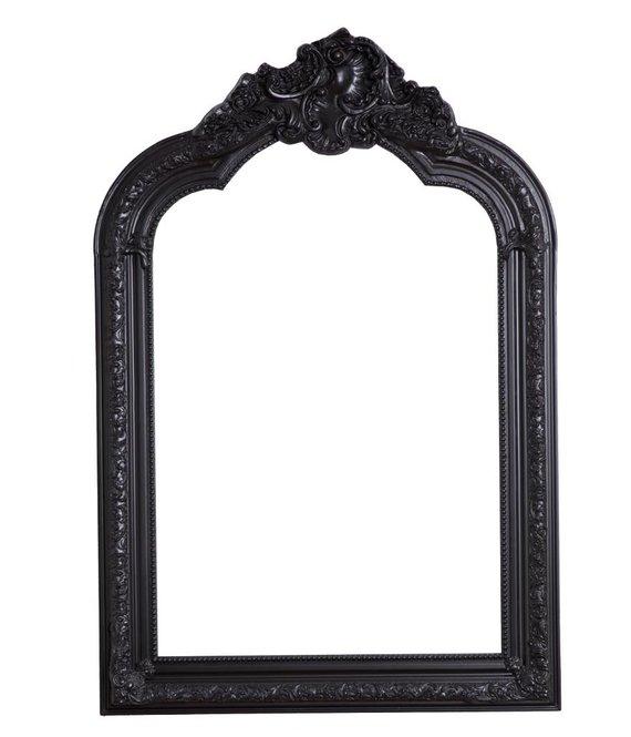 Paris spiegel mit schwarzem barock rahmen - Schwarzer barock spiegel ...