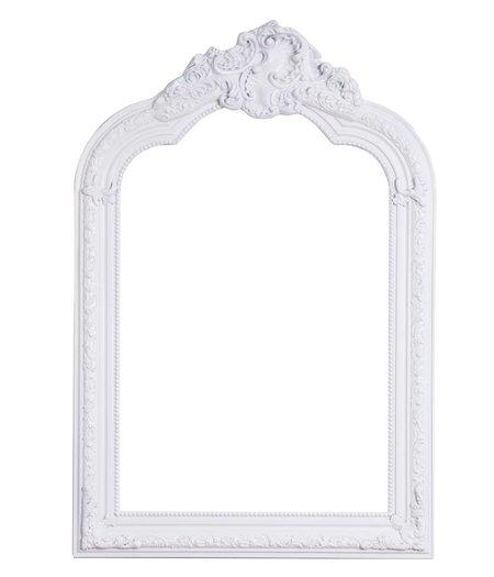 paris spiegel mit wei em barock rahmen. Black Bedroom Furniture Sets. Home Design Ideas