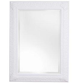 Marbella - Spiegel mit klassischem weißen Rahmen