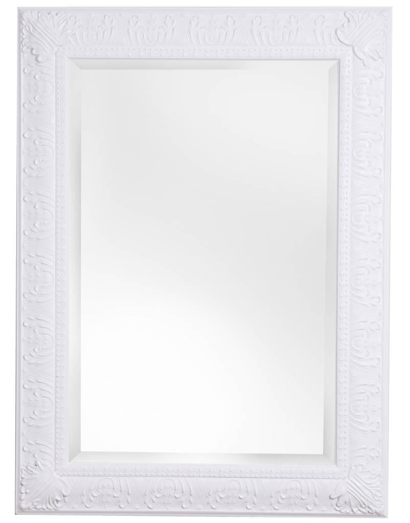marbella spiegel mit klassischen wei em rahmen. Black Bedroom Furniture Sets. Home Design Ideas
