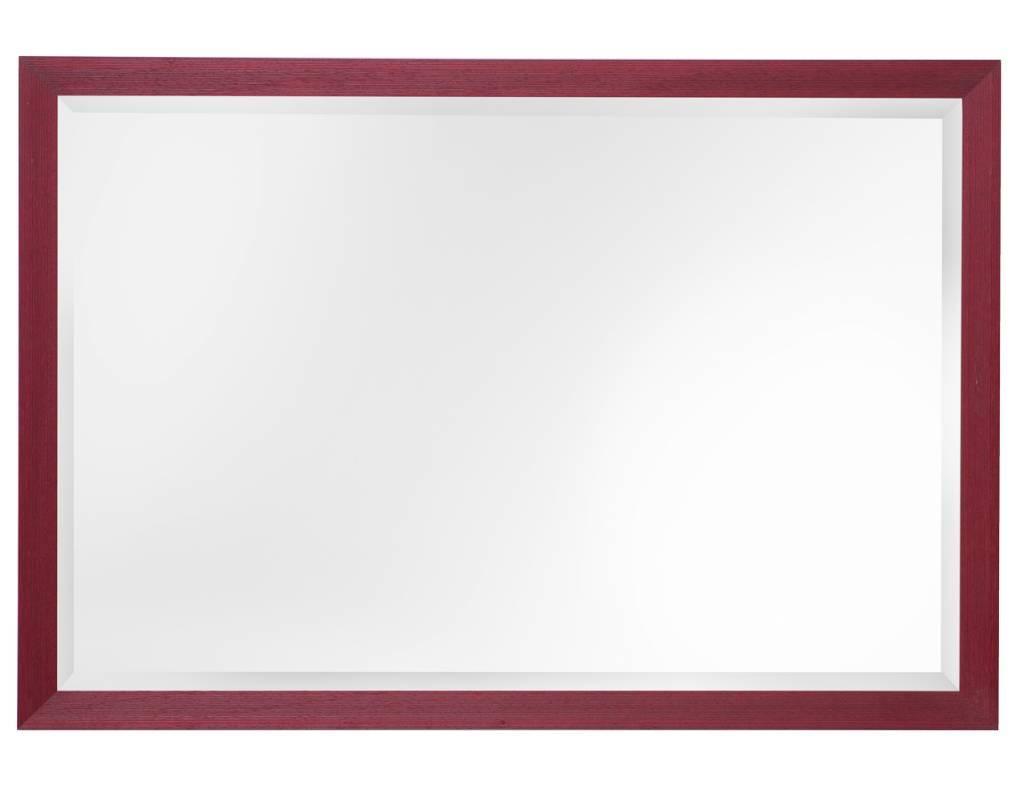 Frankfurt rot mit spiegel for Spiegel 90x120