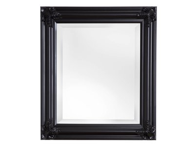 Valencia - Spiegel mit schwarzem Rahmen