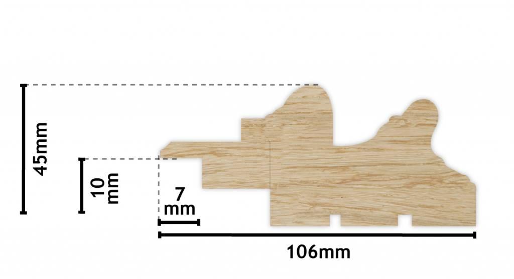 Murcia - Holzrahmen mit Ornament