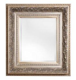 Genova - Barockspiegel mit silbernem Rahmen