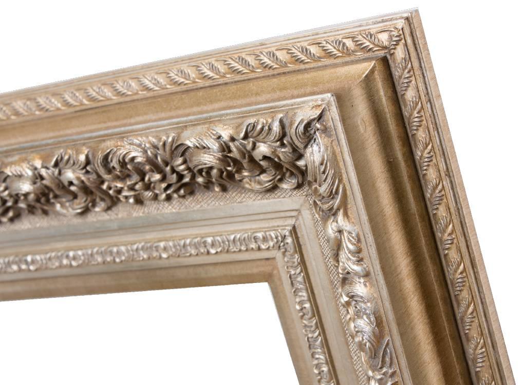 genova silber barocken bilderrahmen holz. Black Bedroom Furniture Sets. Home Design Ideas