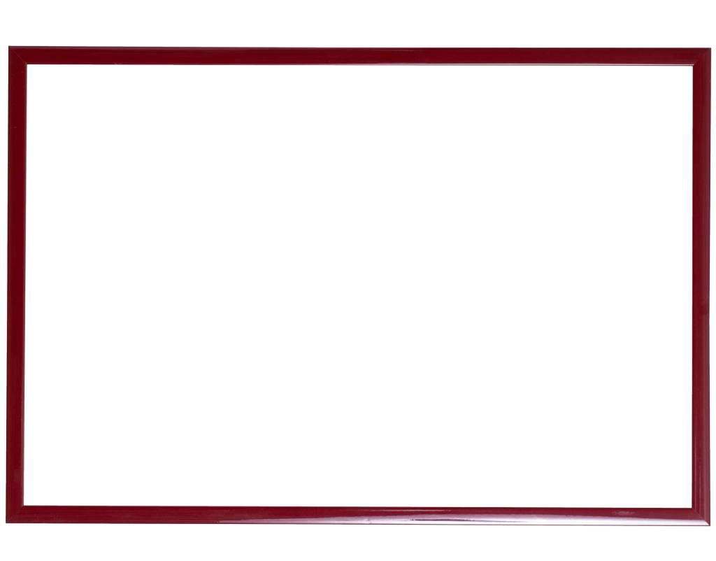 Levie - schmalen roten Bilderrahmen - | KunstSpiegel.de