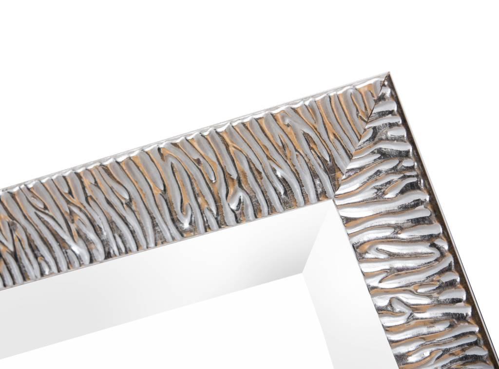 Kapstadt - moderner Silber-Design-Spiegel