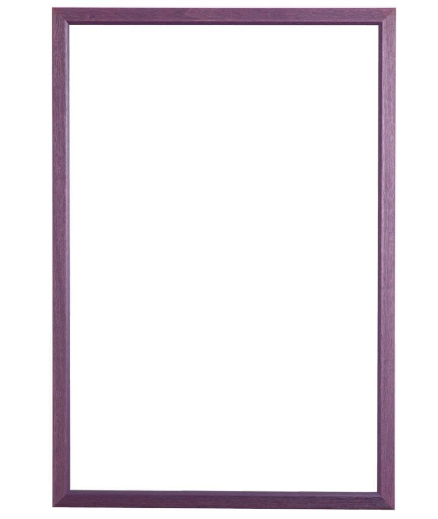 Lille - schmaler violetter Rahmen