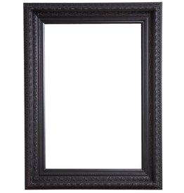 Vigo - schwarzer Rahmen mit Ornament