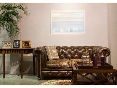 New York - moderner weißer Spiegel