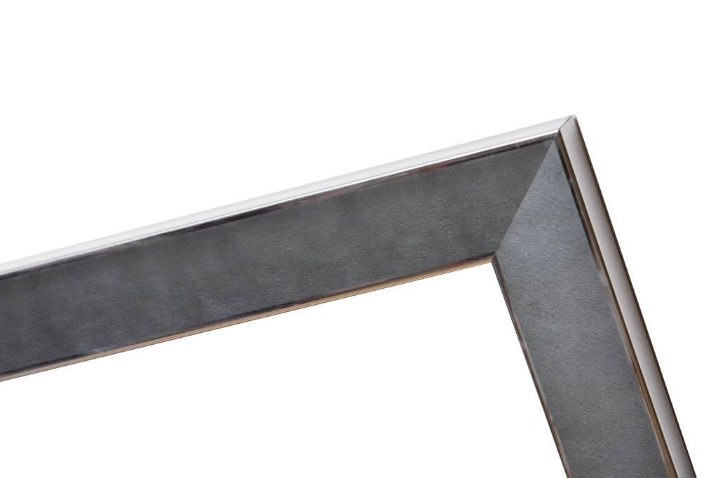 Silberner und grauer Design-Bilderrahmen