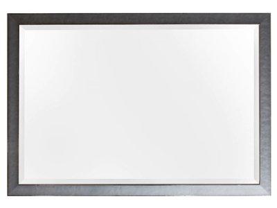 Design-Spiegel mit grauem Rahmen