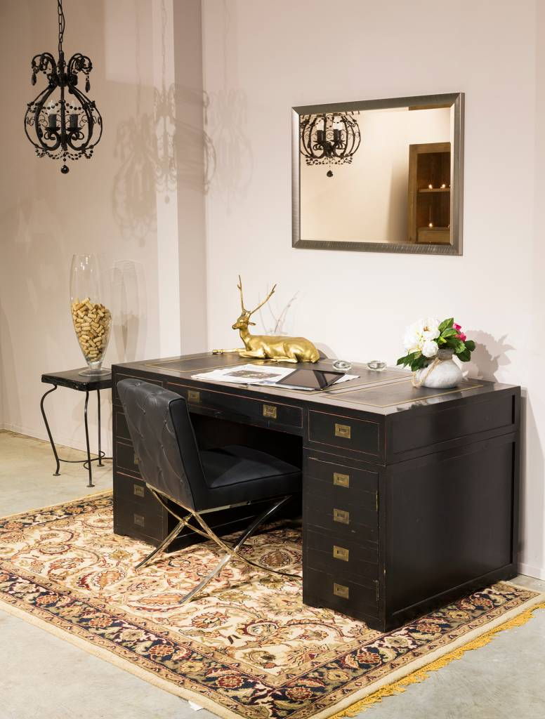 hamburg abgeschr gter designrahmen in edelstahlfarbe. Black Bedroom Furniture Sets. Home Design Ideas
