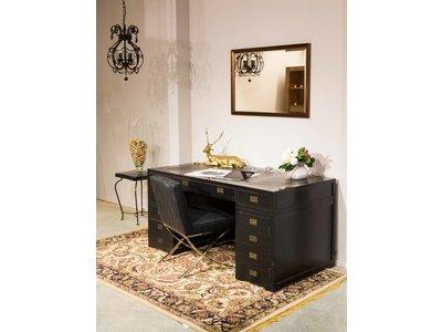 Corte - diagonaler Design-Spiegel in der Farbe Bronze