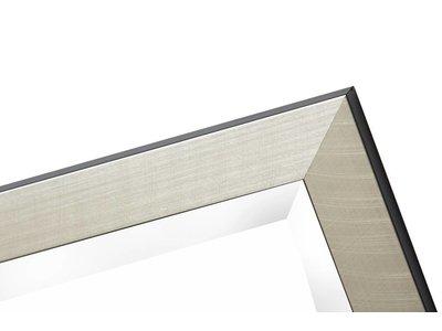 Mariotto - Spiegel mit silbernem Rahmen