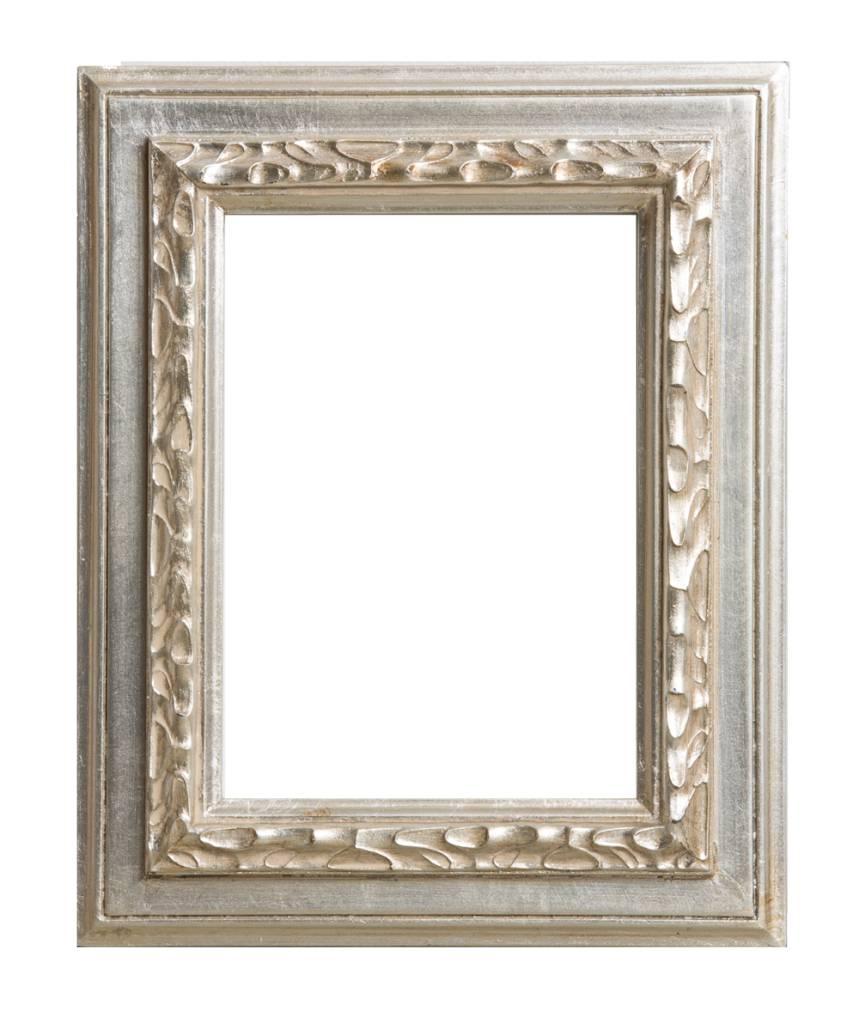 Lazzaro - Silberner Rahmen aus Holz - | KunstSpiegel.de