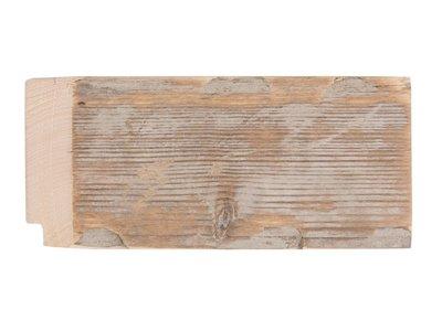Wood Spiegel mit Gerüstholzrahmen (geschmirgelt)
