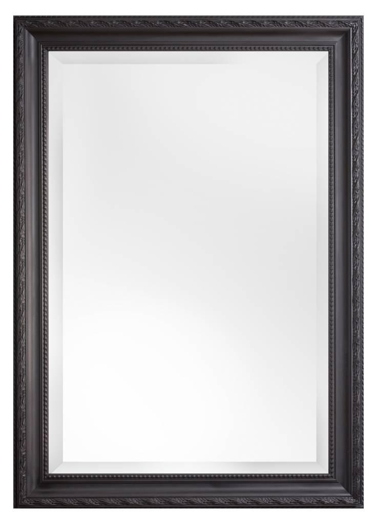 pizzo italienischer spiegel mit schwarzem rahmen. Black Bedroom Furniture Sets. Home Design Ideas