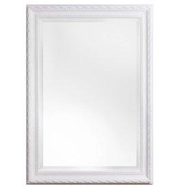 Pizzo - Italienischer Spiegel mit weißem Rahmen