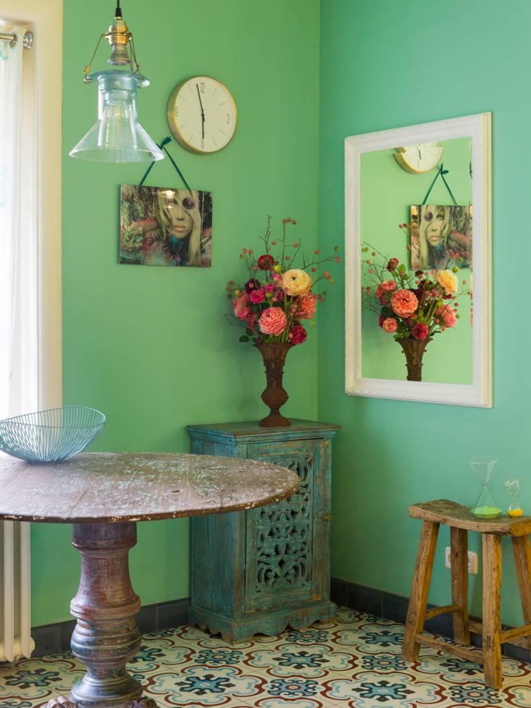 pizzo italienischer spiegel mit wei em holzrahmen. Black Bedroom Furniture Sets. Home Design Ideas