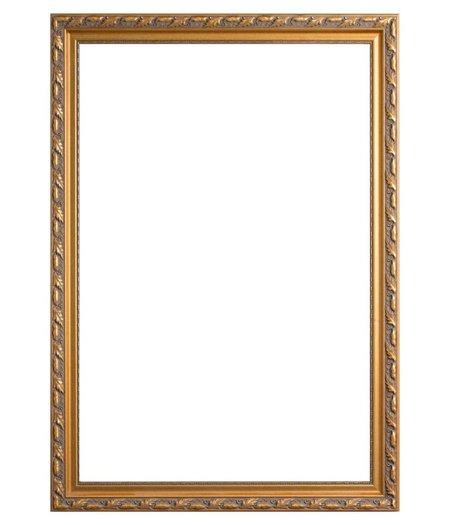 Goldene barockrahmen for Goedkope barok spiegel
