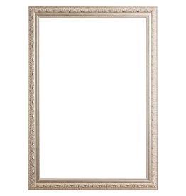 Palmi - klassischer silberner Rahmen