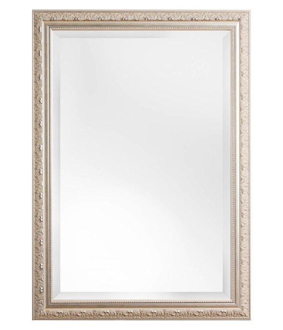 palmi facettenspiegel mit silbernem barock rahmen. Black Bedroom Furniture Sets. Home Design Ideas