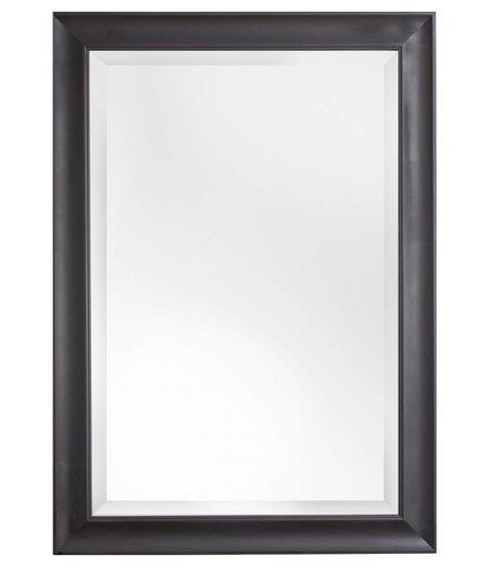 firenze moderner schwarzer spiegel mit goldenem. Black Bedroom Furniture Sets. Home Design Ideas