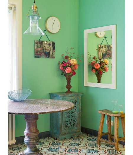 haarlem spiegel mit zeitlosem wei em rahmen. Black Bedroom Furniture Sets. Home Design Ideas