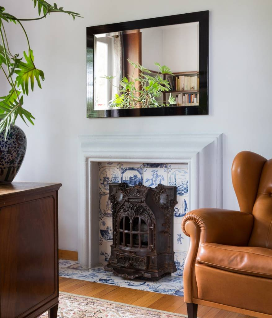 torino moderner gl nzend schwarzer spiegel. Black Bedroom Furniture Sets. Home Design Ideas