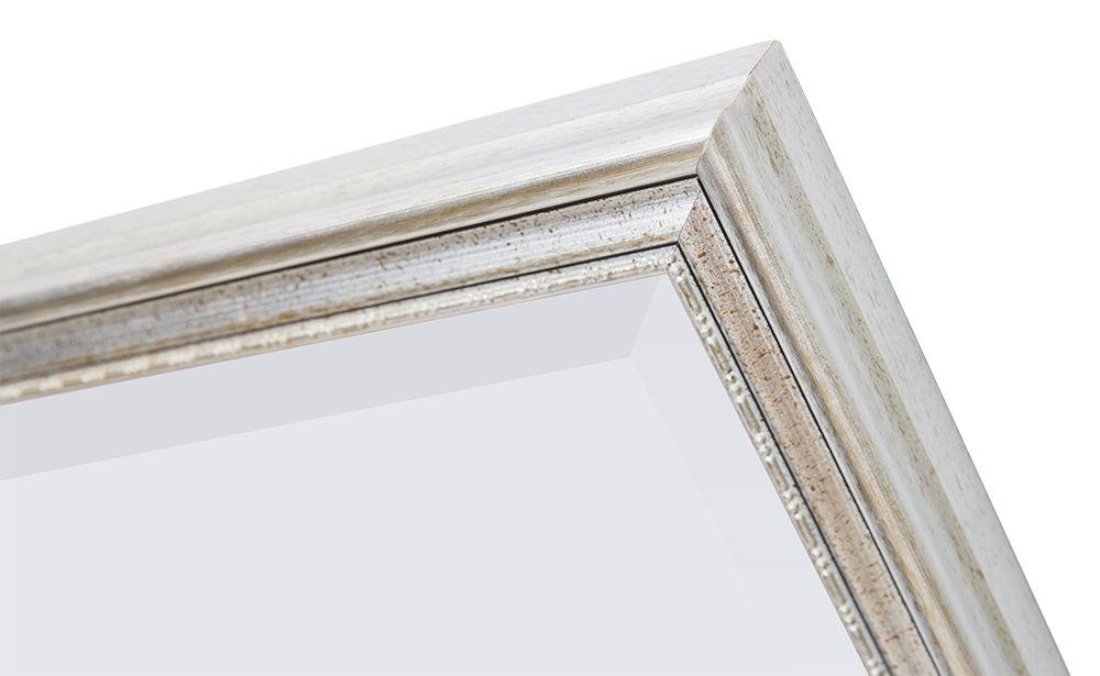 italienischer spiegel mit silbernem rahmen. Black Bedroom Furniture Sets. Home Design Ideas