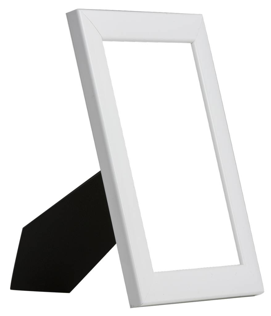 Levie - Moderner weißer Fotorahmen - | KunstSpiegel.de