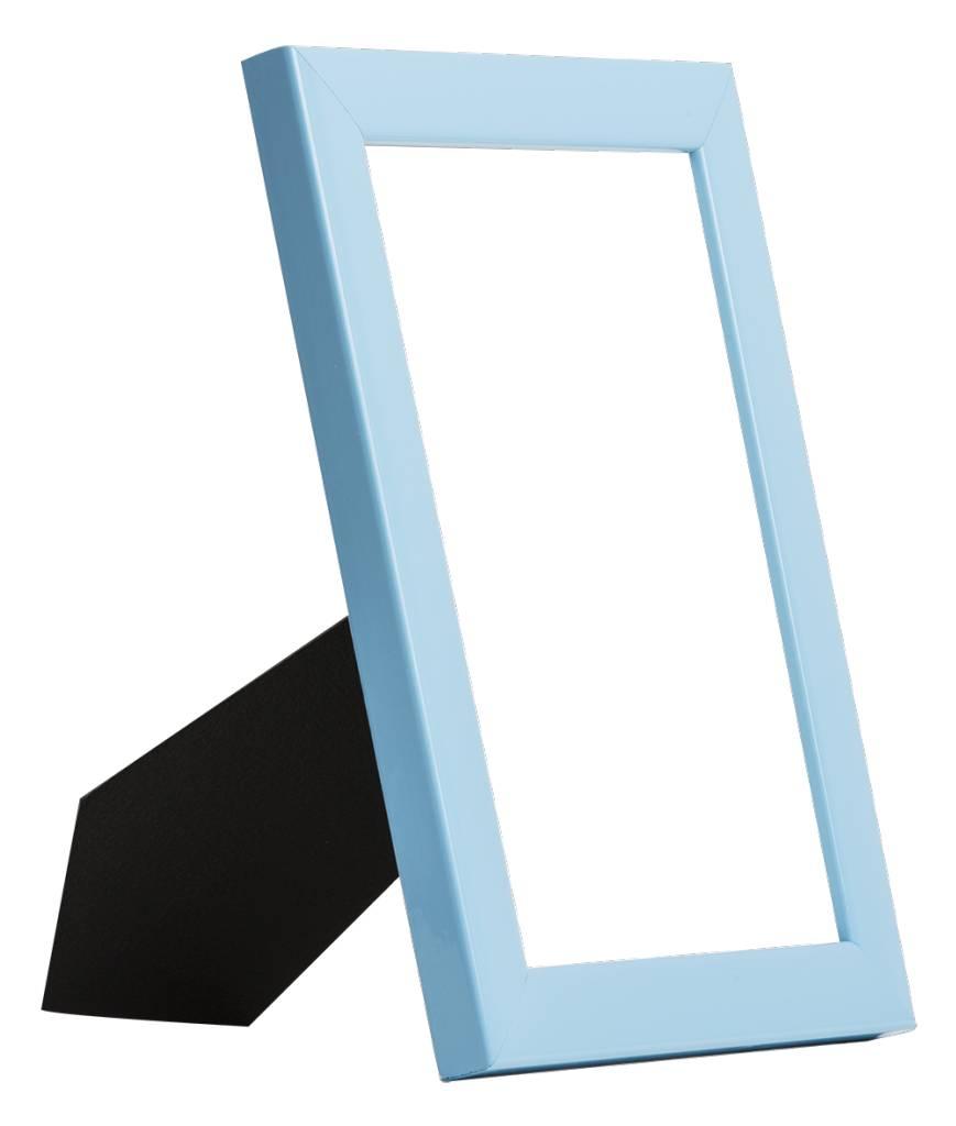 Levie - Moderner blauer Bilderrahmen - | KunstSpiegel.de