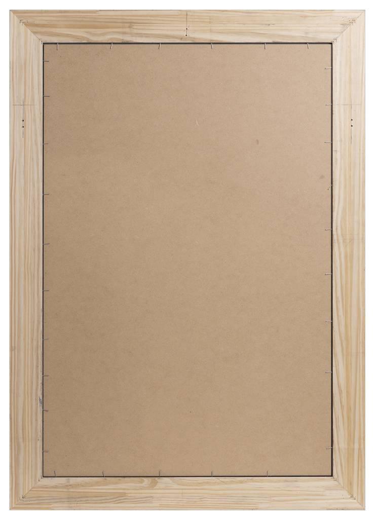 Sicilia - eleganter silberner Rahmen aus Holz - | KunstSpiegel.de
