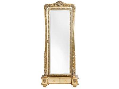 Latina - Goldener Standspiegel