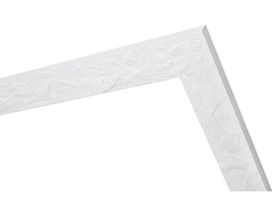 Metz schöner weißer Rahmen