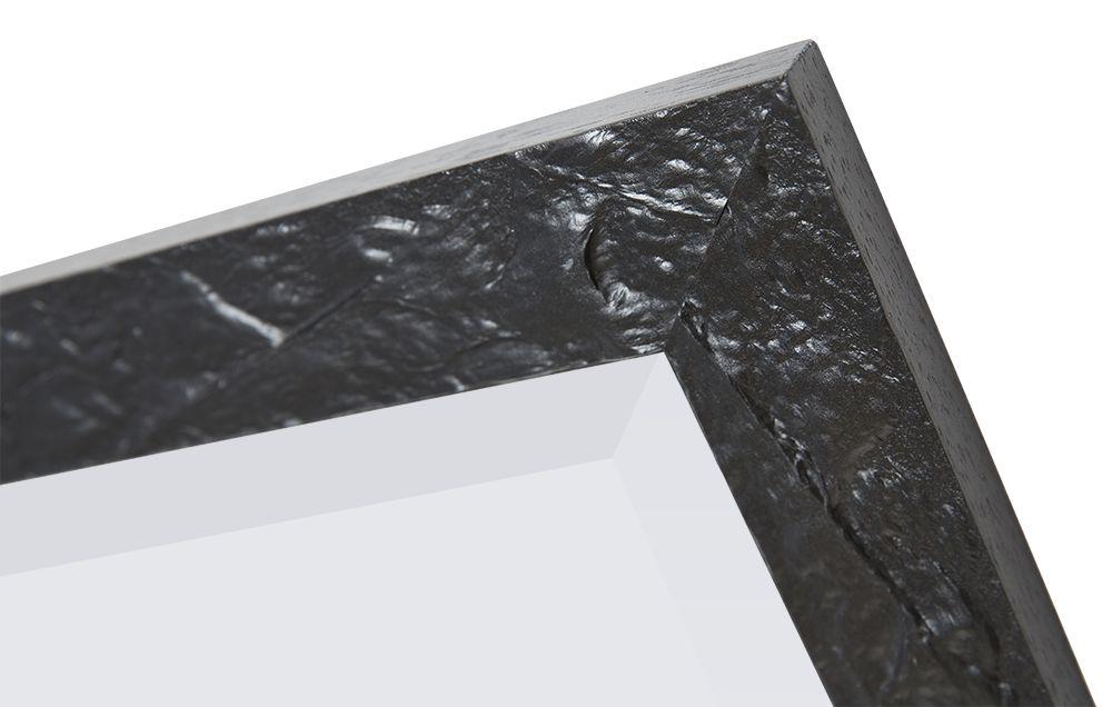 Metz - schöner Spiegel mit schwarzem Rahmen