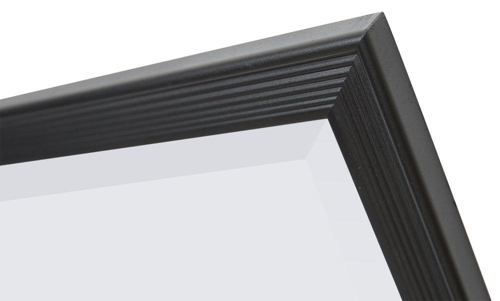 Helsinki - Spiegel mit schwarzem Rahmen