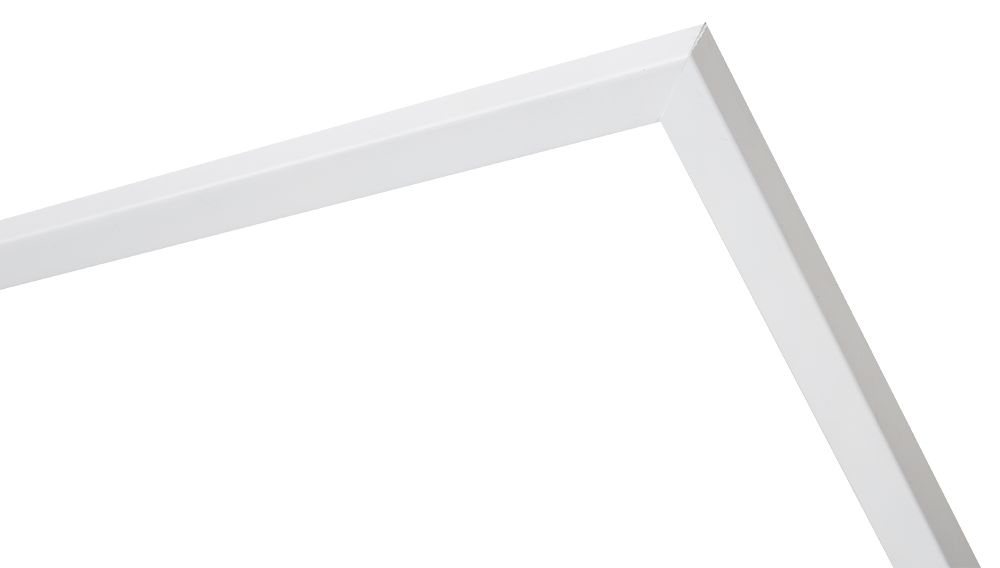 Cosenza - schmaler weißer Holz-Bilderrahmen - | KunstSpiegel.de