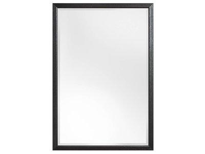 Lille - Spiegel mit schmalem schwarzen Rahmen