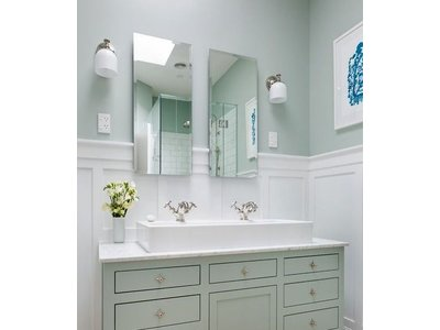 Spiegel ohne Rahmen
