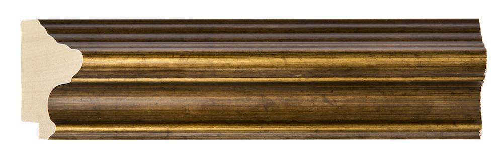 Perla Asti - goldener Holzrahmen