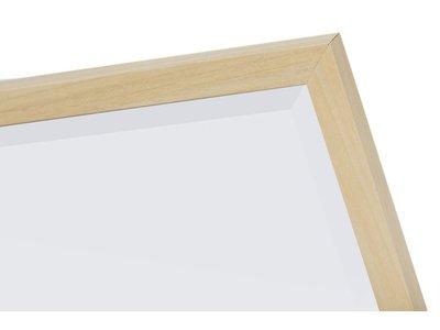 Oslo-Spiegel mit schmalem Holzrahmen