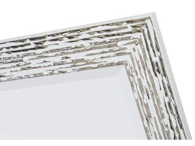 Toscane - Weiß und Silber (mit Spiegel)
