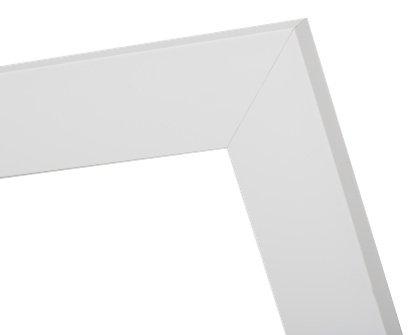 Milano - Luxuriöser moderner weißer Rahmen