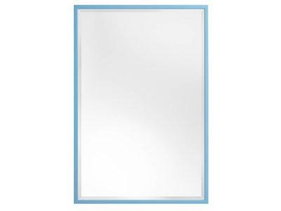 Levie - Spiegel mit schmalem blauen Rahmen