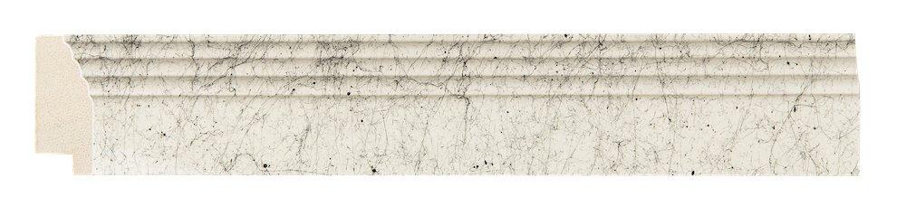 Trento - Weiße Rahmen mit schwarzen Linien