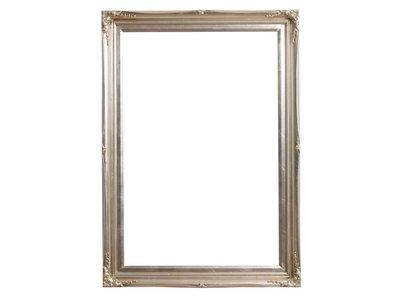 Verona - Silber Rahmen aus Holz