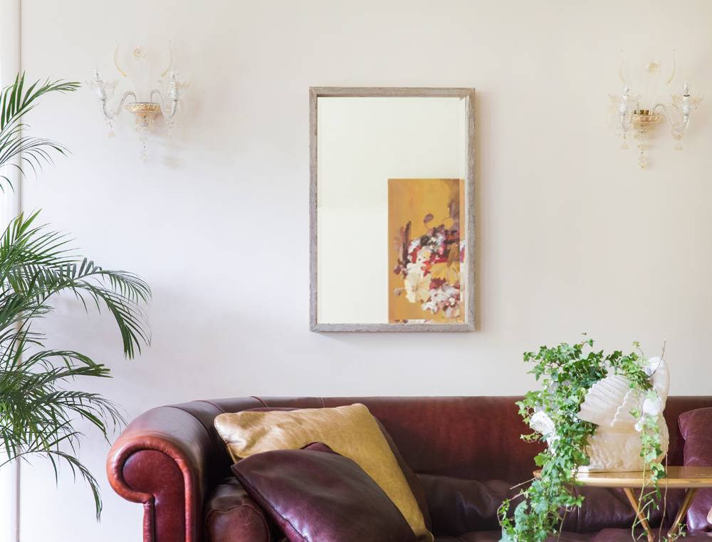 Spiegel Schräg Aufhängen spiegel mit schattenfugenrahmen kunstspiegel de